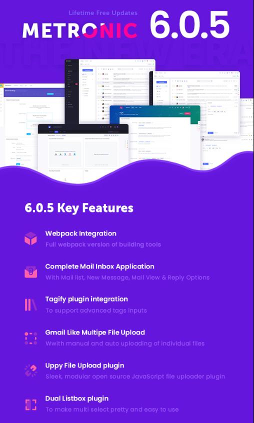 Bootstrap 4 HTML, React, Angular 8 & ...