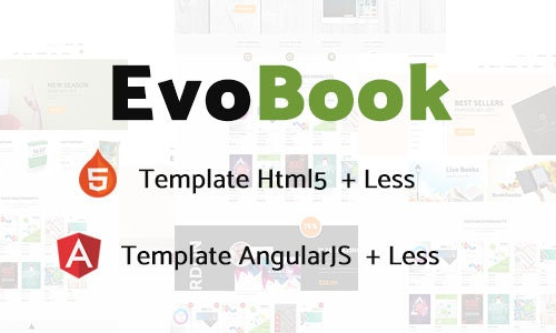 Evobook multipurpose ecommerce template