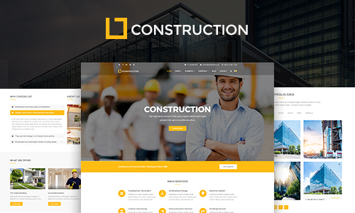 Construction construction building company - preview 30