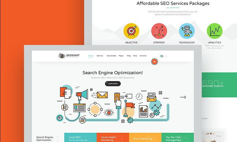 Seosight seo digital marketing agency html ...