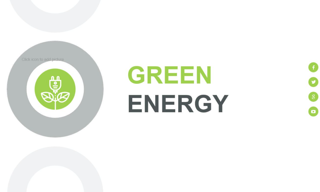 Mẫu powerpoint năng lượng xanh